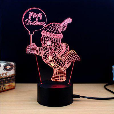 M.Sparkling TD193 Creative Christmas 3D LED Lamp