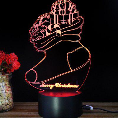 M.Sparkling TD215 Creative Christmas 3D LED  lamp