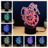 M.Sparkling TD196 Creative Halloween Gift 3D Lamp - COLORIDO