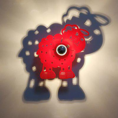 M.Sparkling SL001 Creative Sheep Shape Wall Lamp