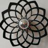 M.Sparkling SL010 Creative Flower Shape Wall Lamp - BLACK