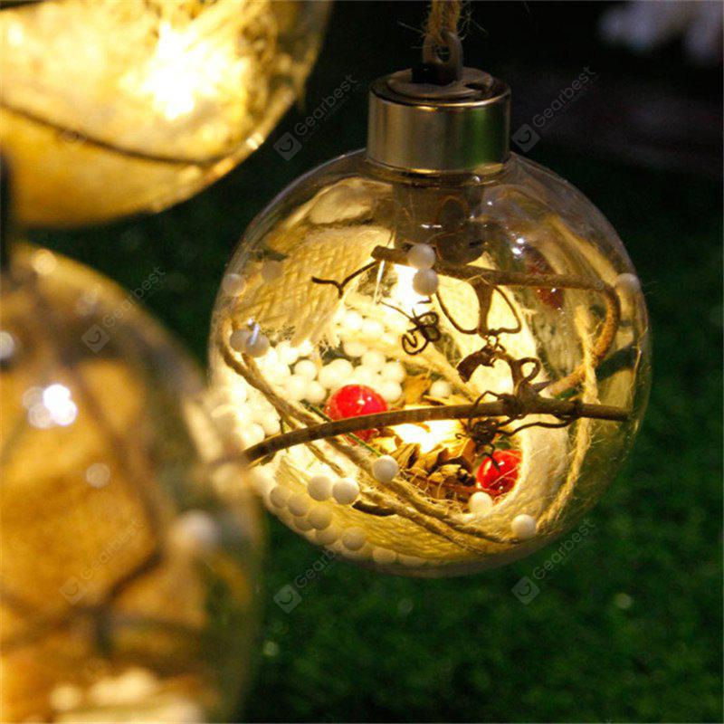 WARM WHITE LIGHT New LED Lamp Ball Christmas Tree Decorations
