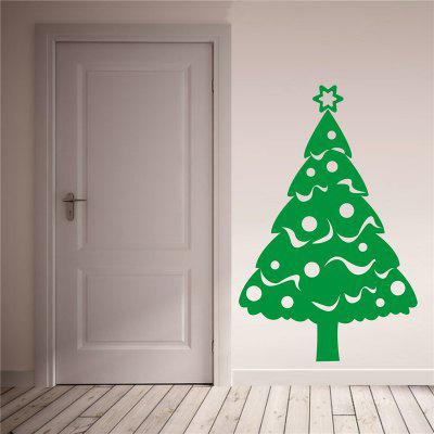 Christmas Tree Decoration  Removable Wall Stickers