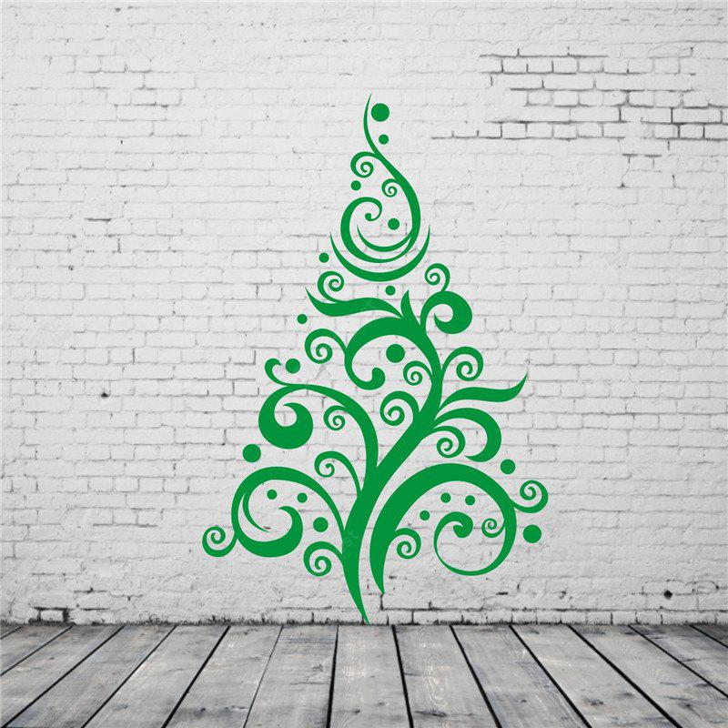 Christmas Tree Pattern Removable Wall Stickers