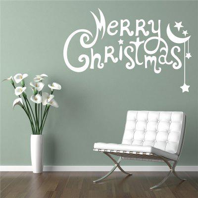 Merry Christmas Removable Wall Stickers for Christmas Decoration