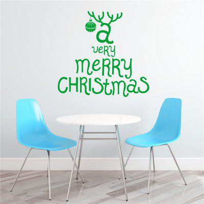 Antique  Removable Wall Stickers for Christmas Decoration