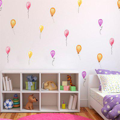 36pcs of Color Balloon Wall Stickers for Home Decoration