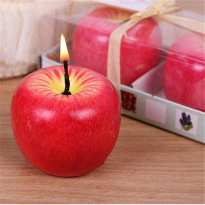 6CM Christmas Apple Candle For Christmas DecorationsCandle &amp; Candle Holders<br>6CM Christmas Apple Candle For Christmas Decorations<br><br>Package Contents: 1 x Candle<br>Package size (L x W x H): 10.00 x 10.00 x 10.00 cm / 3.94 x 3.94 x 3.94 inches<br>Package weight: 0.2500 kg<br>Product size (L x W x H): 6.00 x 6.00 x 6.00 cm / 2.36 x 2.36 x 2.36 inches<br>Product weight: 0.1300 kg