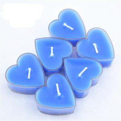9PCS Scented Candles With Heart-Shaped Scented Candles