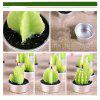 Creative 6PCS Candle Lovely Cactus Polypotted Plant Scented Candles - GREEN