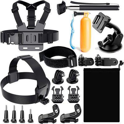 ZFY Sports Camera Accessories Kit for GoPro Hero 6 / 5 / 4 / 3+ / 3 / 2 / 1 / SJ4000 / SJ5000
