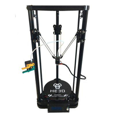 HE3D K200 Single Extruder  With Heat Bed Delta 3d Print Kit