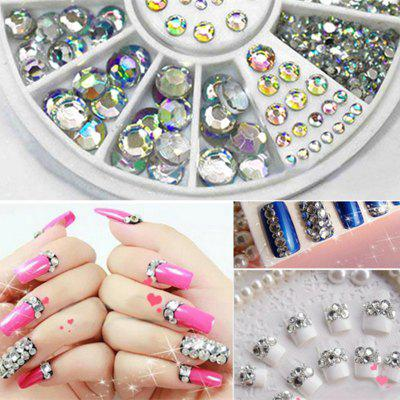 4 Size 300pcs Nail Art Tips Crystal Glitter Rhinestone DecorationNail Art Accessories<br>4 Size 300pcs Nail Art Tips Crystal Glitter Rhinestone Decoration<br><br>Application: Finger Nail<br>Material: Others<br>Package Contents: 1 x box of nail decorations<br>Package size (L x W x H): 6.00 x 6.00 x 0.80 cm / 2.36 x 2.36 x 0.31 inches<br>Package weight: 0.0120 kg
