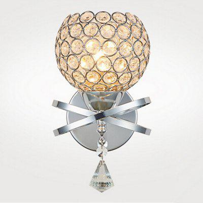 Brightness Simplicity K9 Crystal Wall Light Fixture