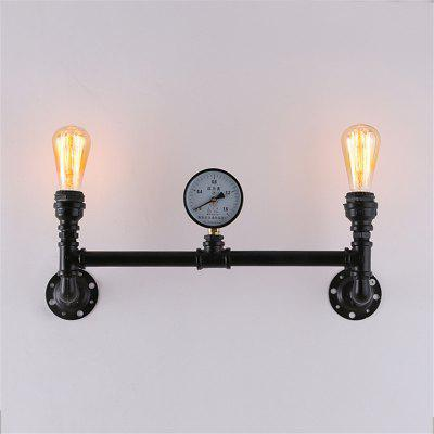 Brightness Vintage Industrial Pipe Wall Lamp