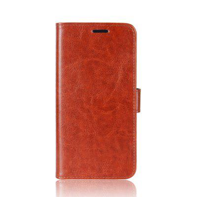 Durable Crazy Horse Pattern Back Buckle Flip PU Leather Wallet Case for Samsung Galaxy J7 Plus crazy horse leather pc back cover for iphone 7 plus 5 5 inch beige