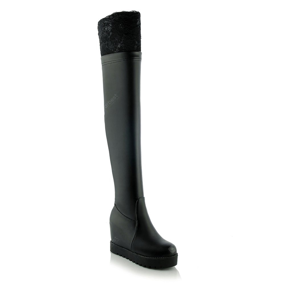 Women's above Knee Boots Casual All Matched Shoes