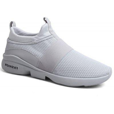 Men'S Casual Net Shoes Light Korean Version of The Trend of Running Shoes