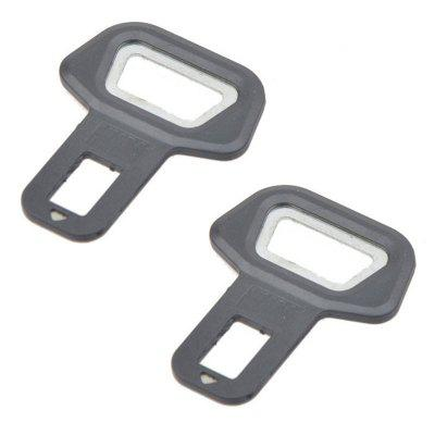 2Pcs / Set Car Portable Multi-function Fashion Car Safety Buckle Beer Opener