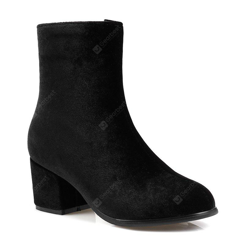 New Style Thick and Pointy Lady Short Boots