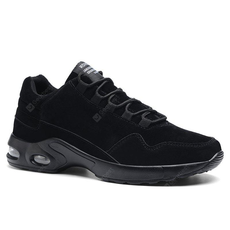 Solid Pigskin Leisure Shoes - Black White 43 purchase for sale outlet shopping online where to buy low price discount codes shopping online jROoN