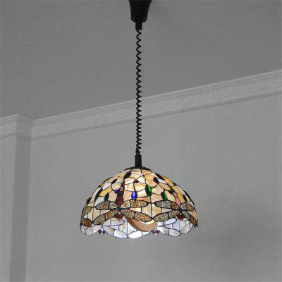 Arts Crafts Lighting Fixtures Inside Modern Art Crafts Nordic Shell Patch Lamp Shade Lustre Hanging Pendant Light Fixtures Handicrafts Chandelier Christmas