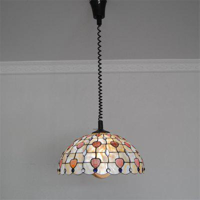 Buy COLORMIX Modern Art Crafts Nordic Shell Patch Lamp Shade Lustre Hanging Pendant Light Fixtures Handicrafts Chandelier Christmas Decor for Home Restaurant Kitchen Coffee Bar Luminaire BKDD-03 for $188.84 in GearBest store