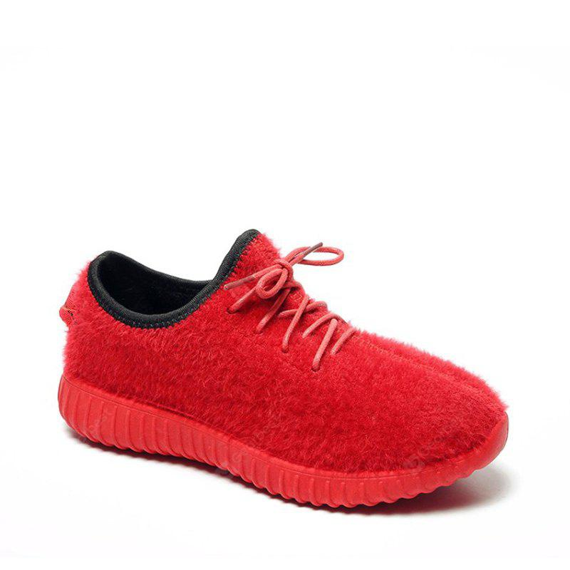 2017 New Lace Suede Comfortable Casual Shoes