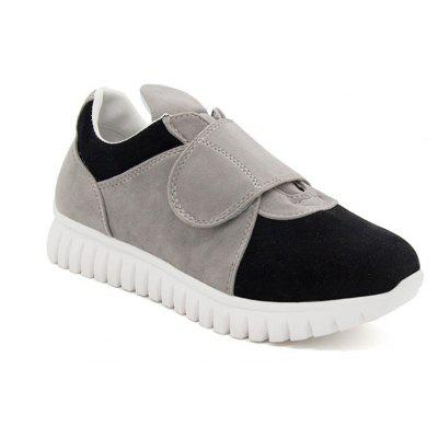 Simple Stitching Velcro Sports Shoes