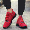 Men's Leisure Sports Breathable Mesh Shoes - RED