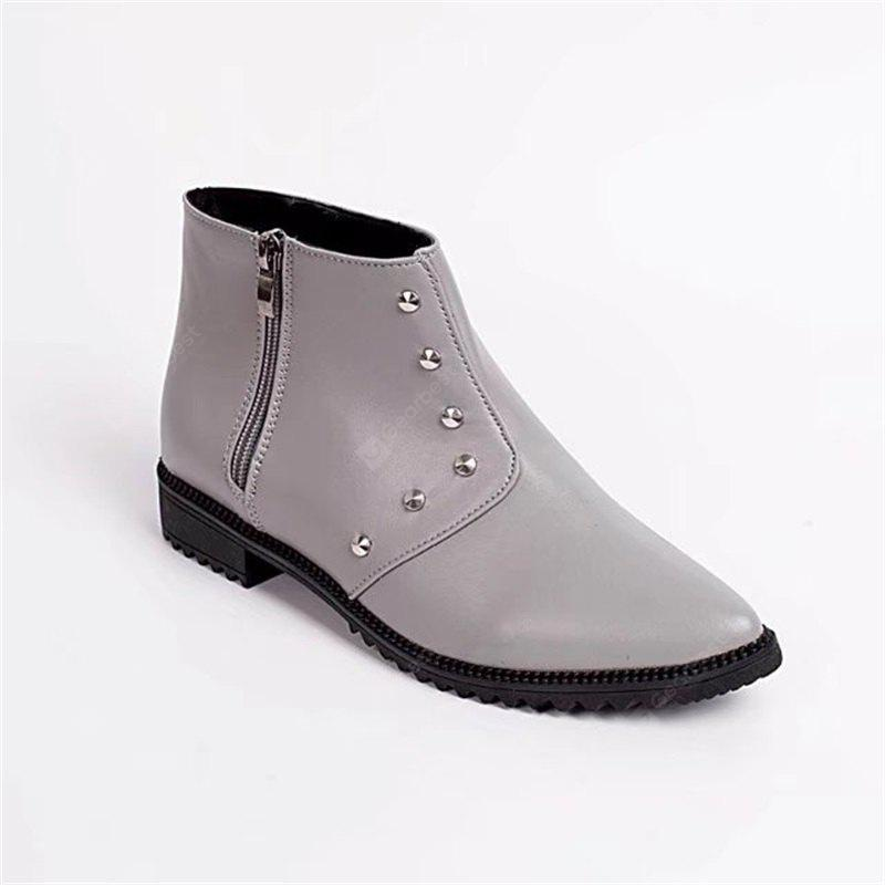 A77 Low with The Flat Pointed Rivets Are Comfortable Boots Martin Boots