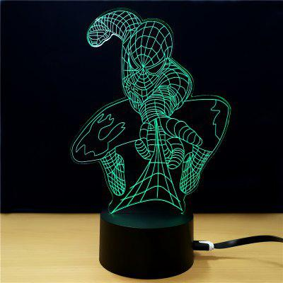 M.Sparkling TD020 Superhero 3D LED Lamp3D Lamps<br>M.Sparkling TD020 Superhero 3D LED Lamp<br><br>Brand: M.Sparkling<br>Feature: Rechargeable<br>Light Source Color: RGB<br>Package Content: 1 x Acrylic Board, 1 x Abs Pedestal, 1 x Usb Cable, 1 x English Manual<br>Package Size ( L x W x H ): 24.00 x 17.00 x 5.00 cm / 9.45 x 6.69 x 1.97 inches<br>Product Size(L x W x H): 15.00 x 22.00 x 8.50 cm / 5.91 x 8.66 x 3.35 inches<br>Type: Ball<br>Voltage (V): 5V