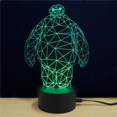 M.Sparkling TD003 Superhero 3D LED Lamp