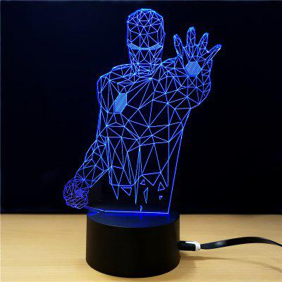 M.Sparkling TD013 Creative Superhero 3D LED Lamp