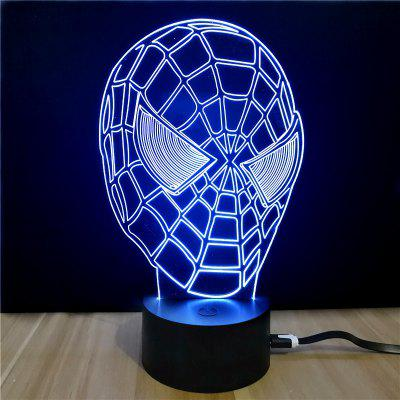 M.Sparkling TD037 Creative Superhero 3D LED Lamp