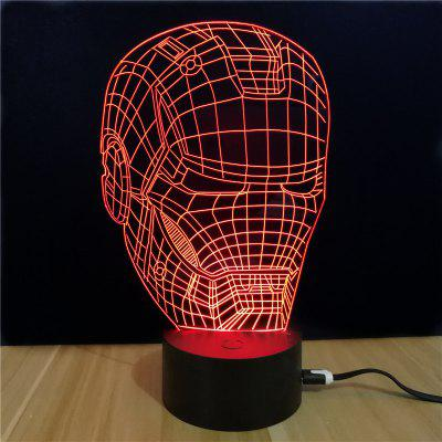M.Sparkling TD040 Creative Superhero 3D LED Lamp