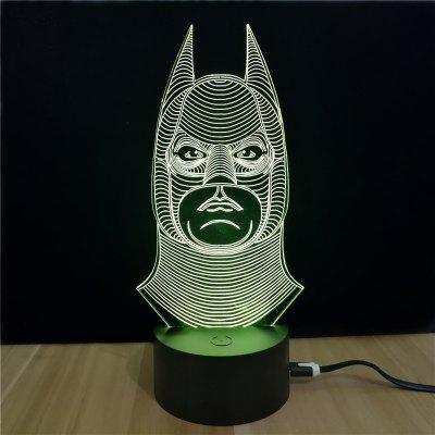 M.Sparkling TD046 Creative Superhero 3D LED Lamp