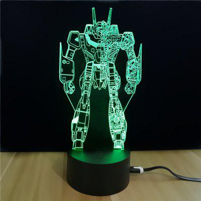 M.Sparkling TD058 Creative Superhero 3D LED Lamp