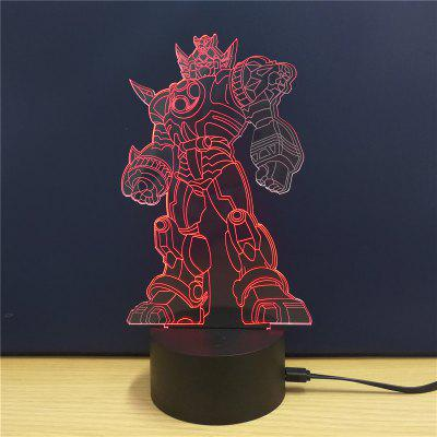 M.Sparkling TD097 Creative Superhero 3D LED Lamp