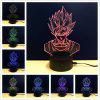 M.Sparkling TD121 Creative Superhero 3D LED Lamp - COLORFUL