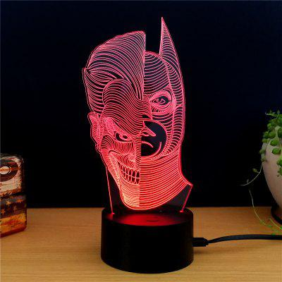 M.Sparkling TD131 Creative Superhero 3D LED Lamp