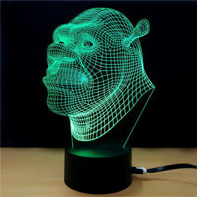 M.Sparkling TD211 Creative Superhero 3D LED Lamp