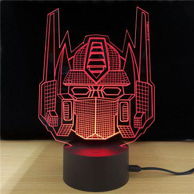 M.Sparkling TD231 Creative Superhero 3D LED Lamp