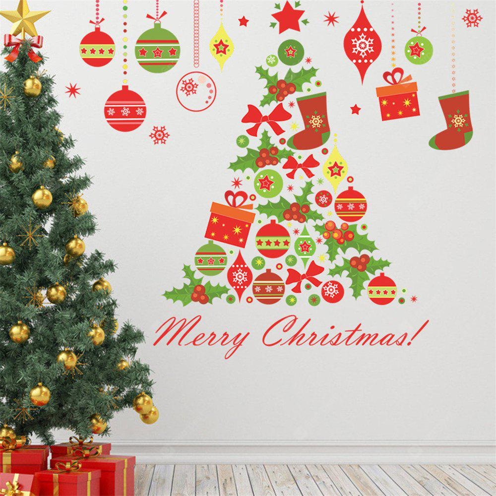 COLORMIX Christmas Tree Wall Sticker for Home Decoration