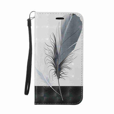 Buy Magnetic 3D Embossed Painted Pu Phone Case for Samsung Galaxy J730, BLACK AND GREY, Mobile Phones, Cell Phone Accessories, Samsung Accessories, Samsung J Series for $6.49 in GearBest store