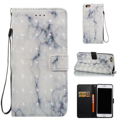 3D Marble Pattern Painted Pu Phone for iPhone 6S Plus / 6 Plus