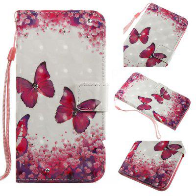 New 3D Painting Point Drill Phone Case for Sony Xa