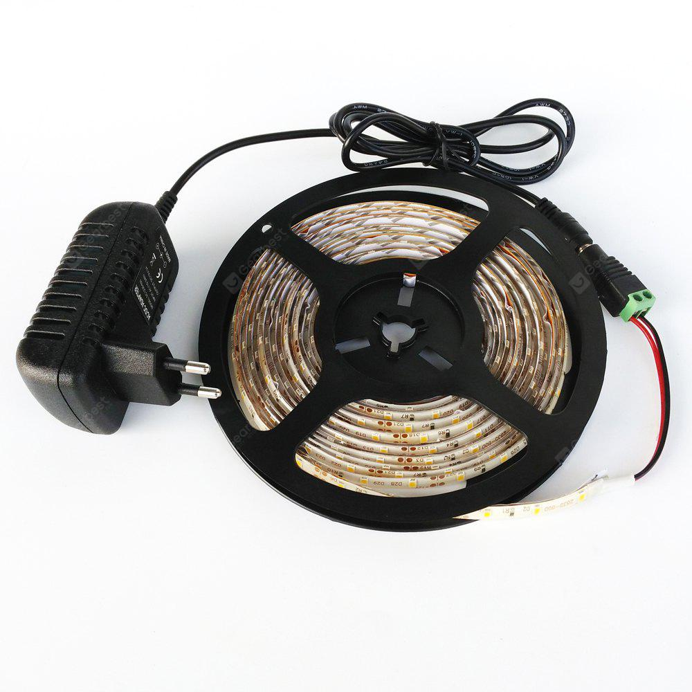 ZDM Waterproof 5M 300 x 3528 LED Light Strip with AC / DC Transformer