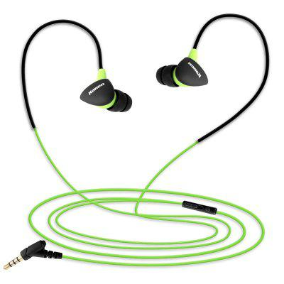 Kanen S30 Running Sport Headphone In-ear Earphone Earbud with Microphone