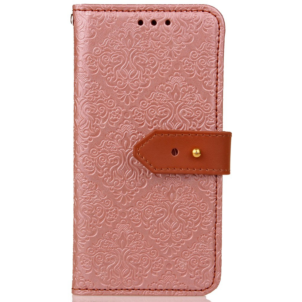 European Style Card Lanyard Pu Leather for Samsung J730